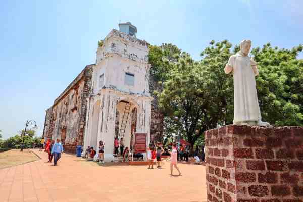 things to do in Melaka Malaysia st pauls church