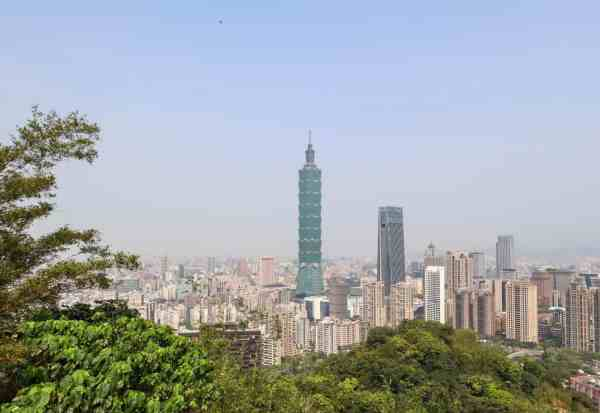 things to do in taipei 101 from elephant mountain hike