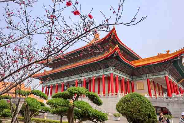 Taipei travel tips memorial hall