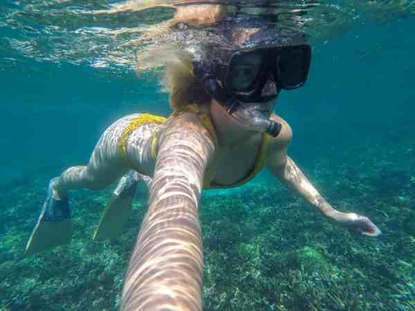 Perhentian Small Kecil Island Travel Guide snorkelling