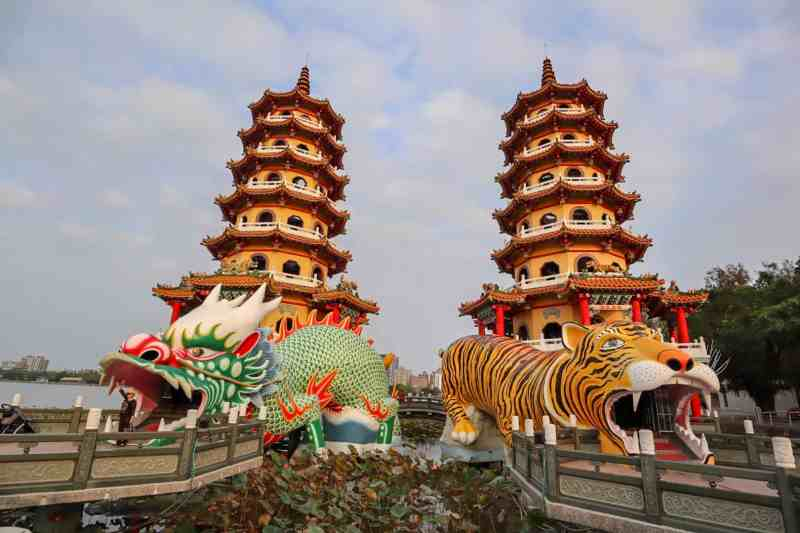 dragon and tiger pagoda kaohsiung | places to visit in Taiwan