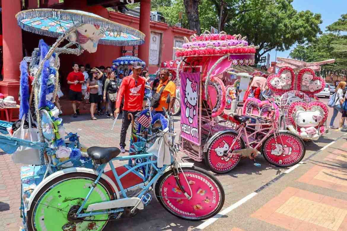 things to do in Melaka Malaysia, tricycle