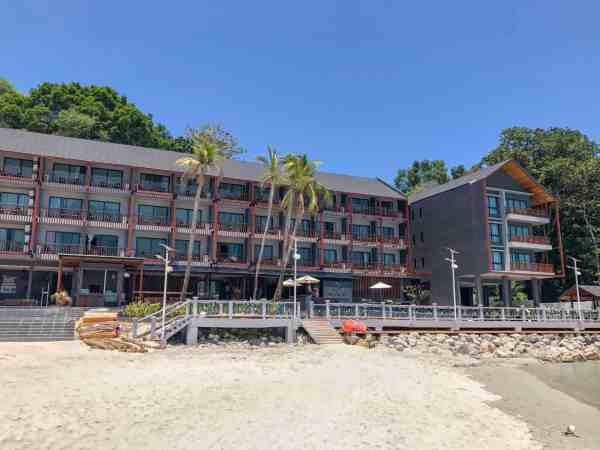 best hotels and resorts on Perhentian Islands mimpi resort long beach