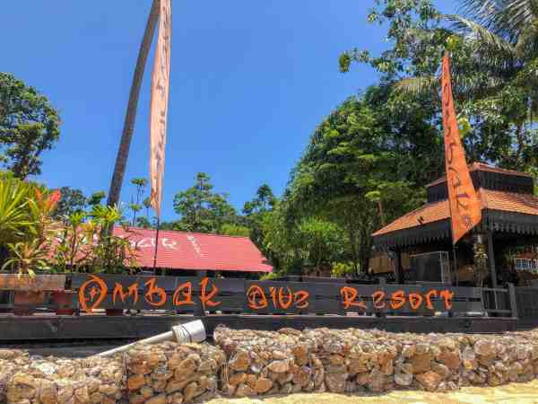 best perhentian island hotels and resorts ombak dive resort