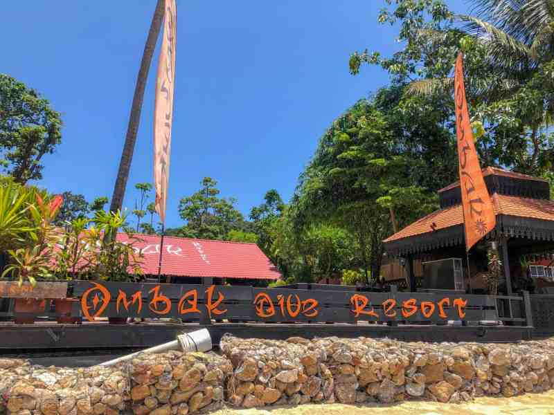 Perhentian Islands Accommodation, best perhentian island hotels and resorts ombak dive resort