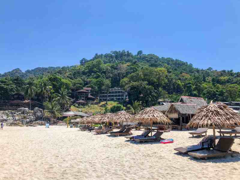 Perhentian Islands Accommodation, Best Perhentian Island Hotels and Resorts Bubu Villa Long Beach