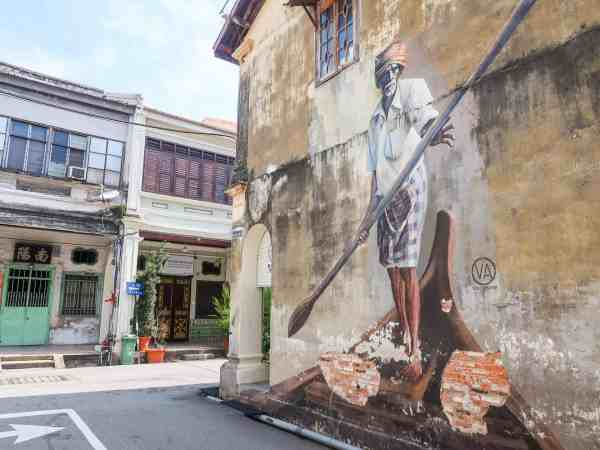 Georgetown Penang Malaysia Guide famous street art