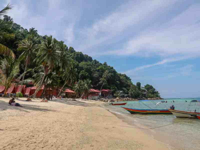 Small Perhentian Island Guide, Perhentian Kecil Coral Beach