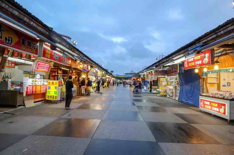 best places to visit in Taiwan, Hualien night market