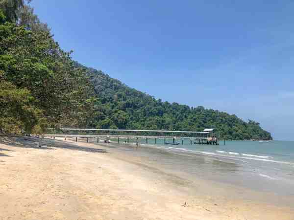 Georgetown Penang Malaysia Guide national park walk beach