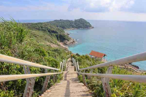 Perhentian Small Kecil Island Travel Guide viewpoint