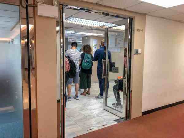 Forever Bright Trading China Visa Agency Entrance