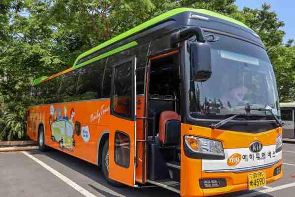 yeha tours bus jeju island