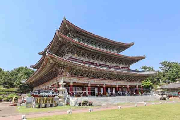 Yakcheonsa Temple Jeju island