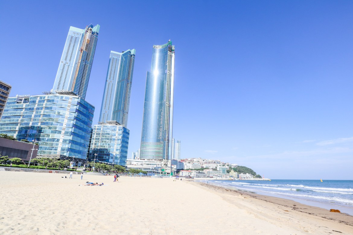 Things to do in Busan, Haeundae Beach Busan