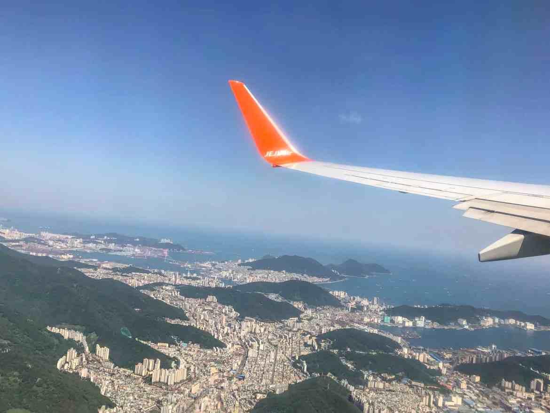 10 day south korea itinerary jeju air flight from busan to juju city