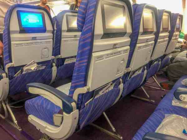 Southern China Airlines Review Seats