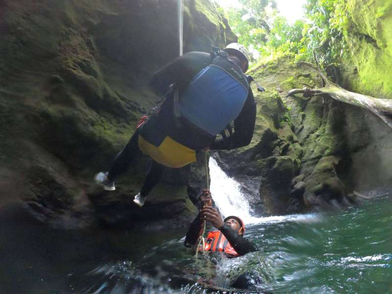 Canyoning with Extreme Dominica | things to do in Dominica