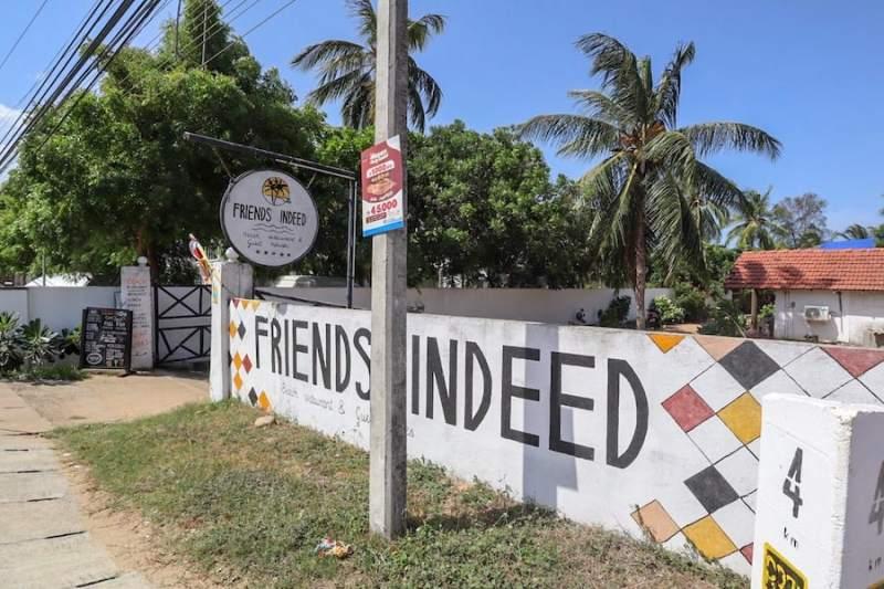friends indeed restaurant in Arugam Bay