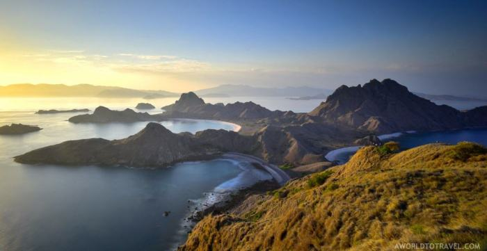 Komodo Flores Sunrise Mountain Weather | best places to travel in Asia in July and August