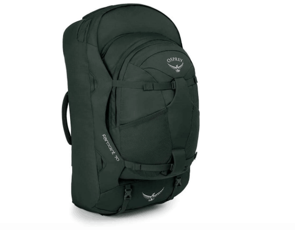 female packing list India, osprey farpoint backpack