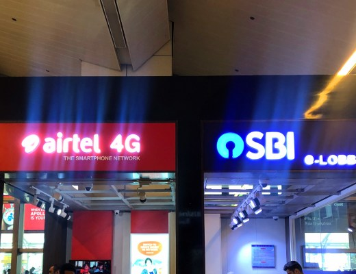 airtel store for sim card delhi airport