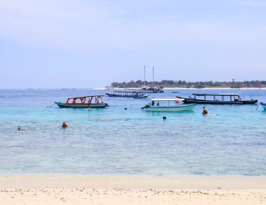 Gili T ocean | best places to travel in December and January