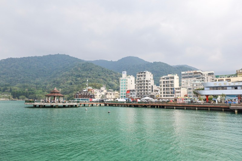Ita Thao from the water sun moon lake day trip from Taichung