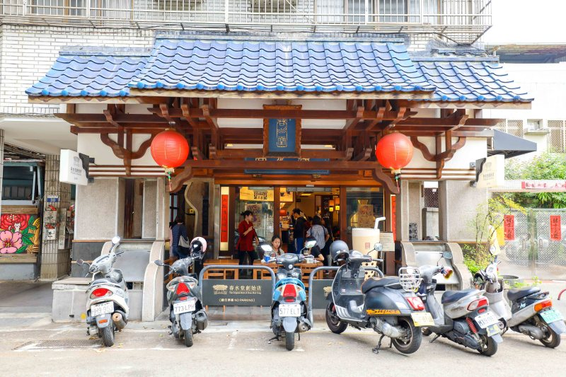 Taichung itinerary, Taichung Chun Shiu Tang bubble tea shop outside | taichung itinerary taichung things to do