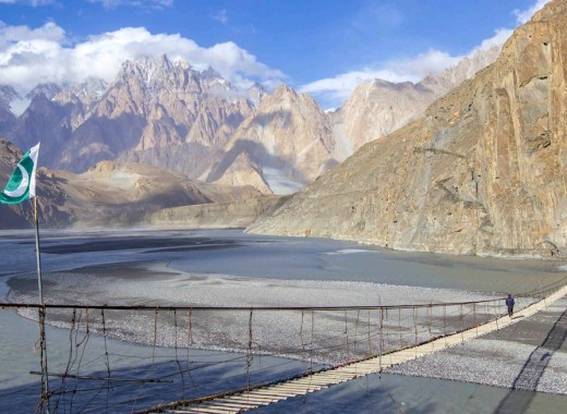 Hussaini Suspension bridge | Pakistan travel tips