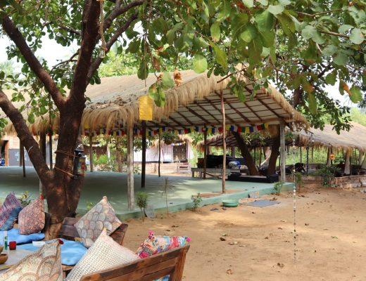 Earth Yoga Village Goa Studio | yoga in india