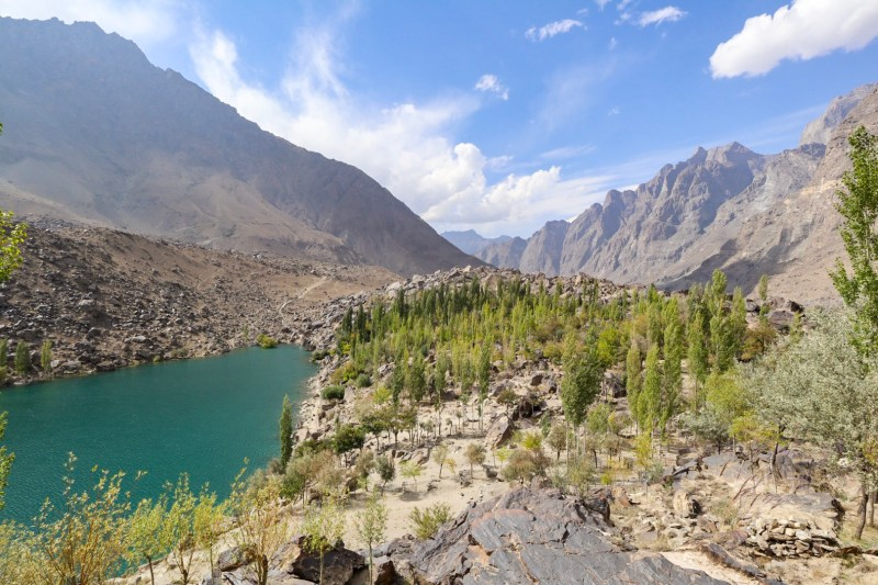 Upper Kachura Lake and Mountains Pakistan | best places to visit in Asia in July and August