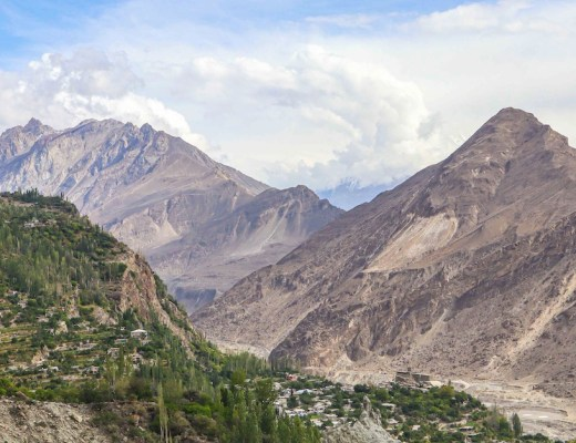 huzza mountains | Pakistan itinerary