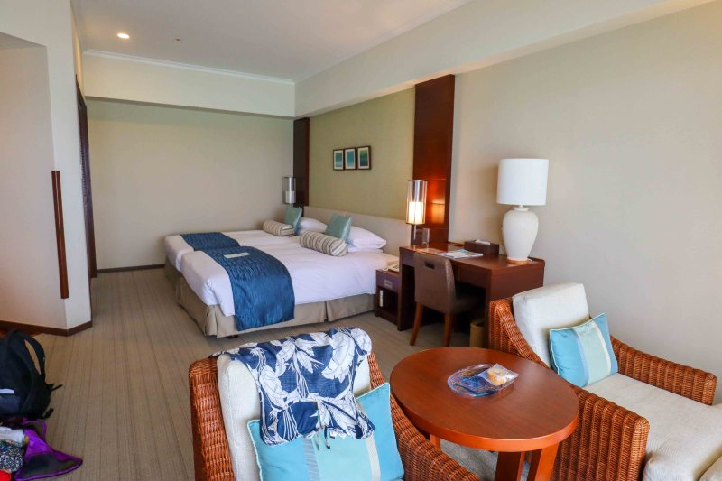 Double Room in Miyakojima Tokyu Resort Hotel | things to do in Miyakojima island