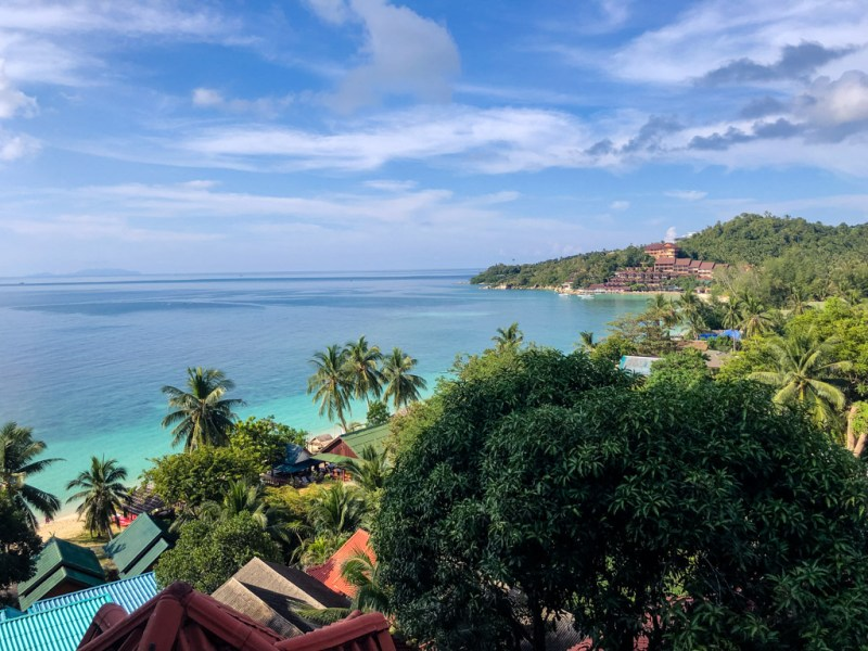 Koh phangan ocean view | best places to travel in Asia December and January