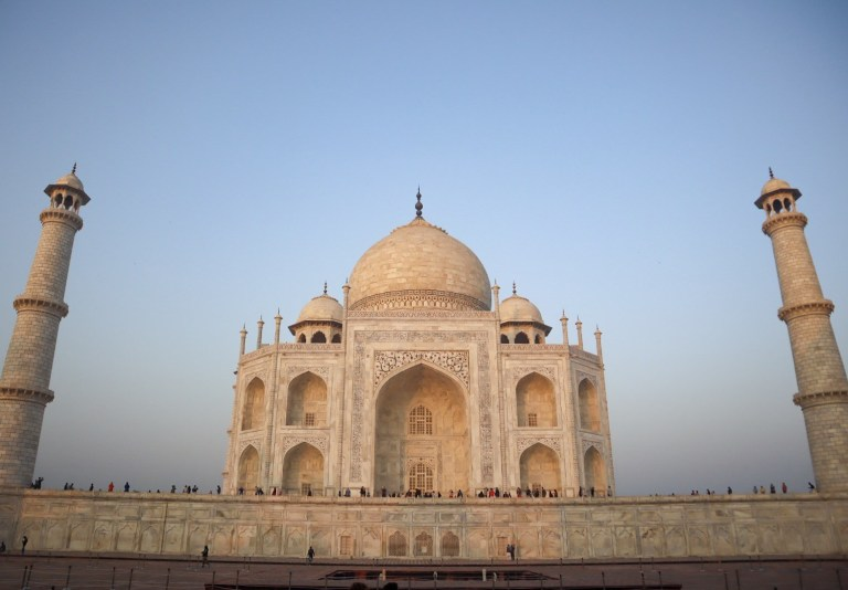 Taj Mahal at Sunrise | best places to visit in India