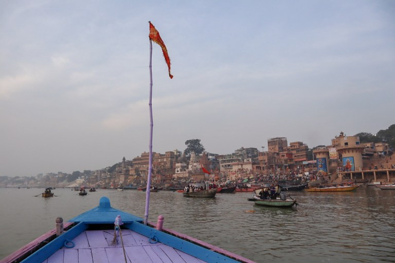 boat trip on River Ganges Varanasi | best places to visit in India
