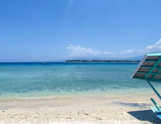 blue ocean of Gili T | things to do on Gili T