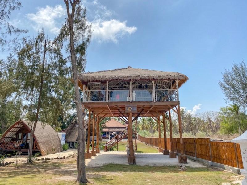 things to do in Gili Trawangan, Sunset Beach Yoga Shala Gili T