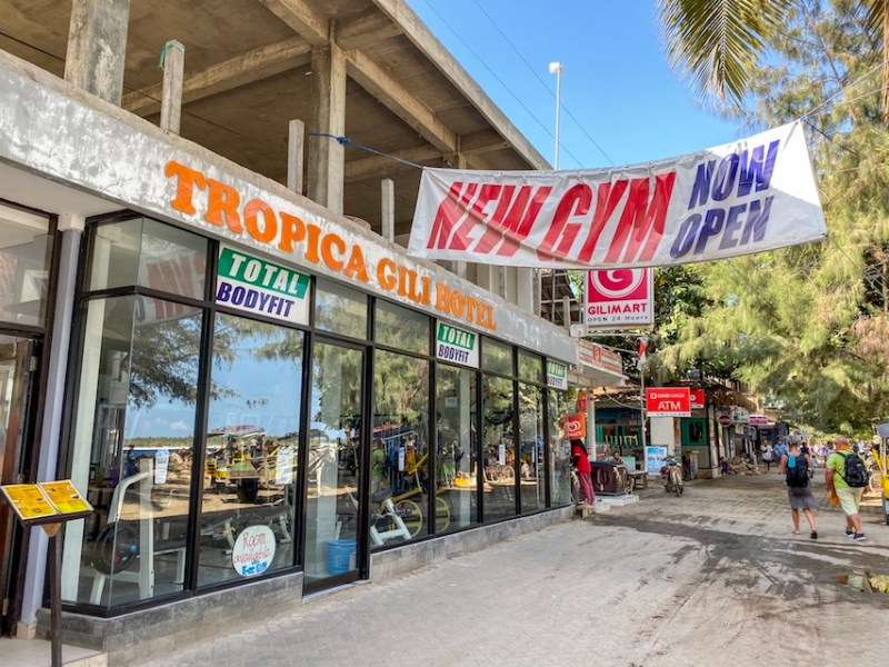 Gili T gym   things to do in Gili T