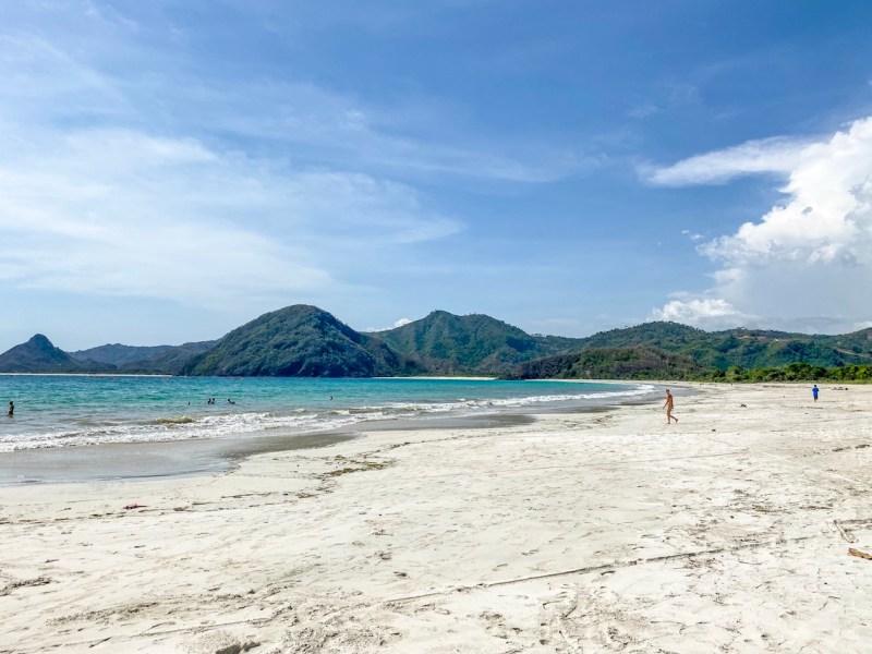 Bali Lombok itinerary, Selong Belank Beach