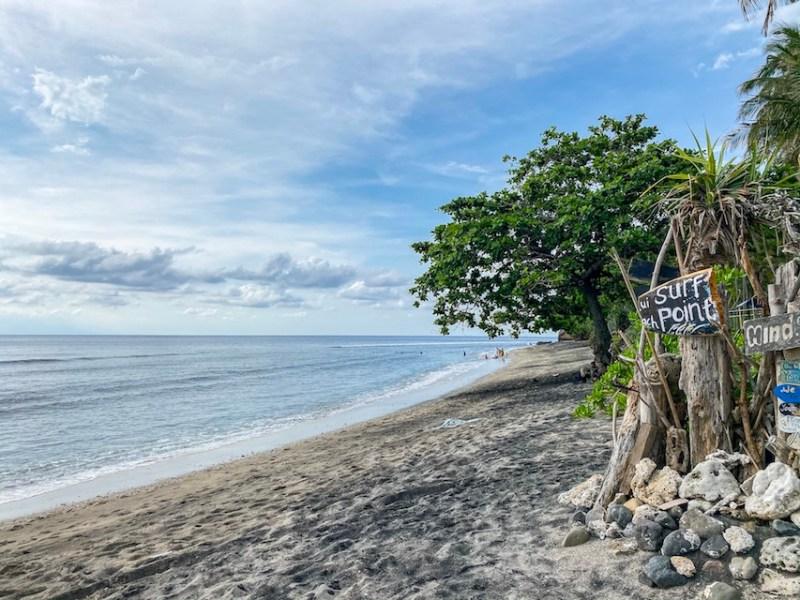 Bali Lombok itinerary, Klui Beach and Surf Shack