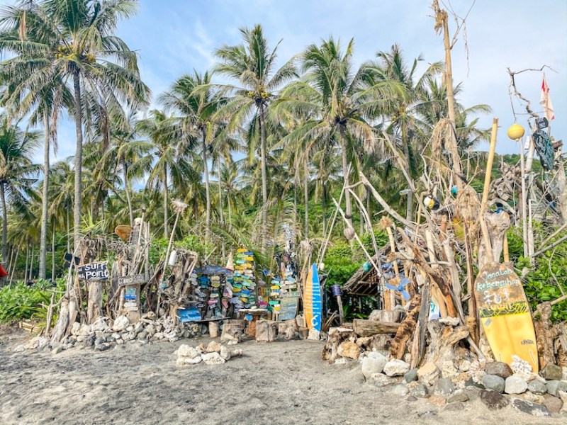 Lombok Wave Surf Shack | Lombok and Bali itinerary