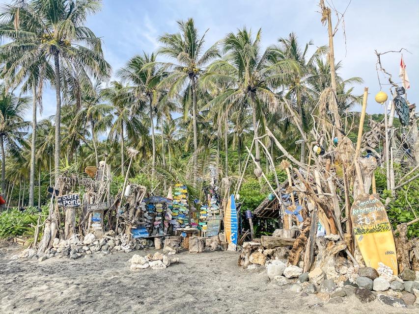 Bali Lombok itinerary, Lombok Wave Surf Shack