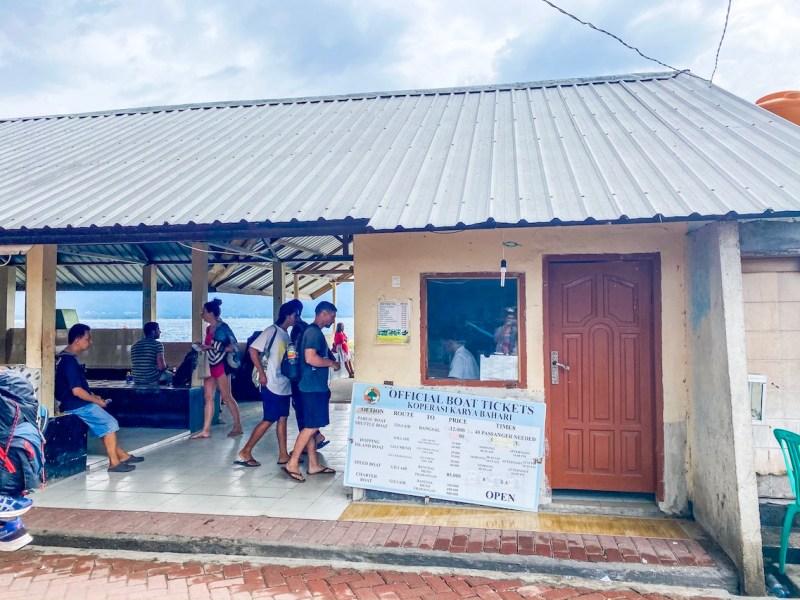 Gili Air Boat Ticket Office | gili trawangan to gili air