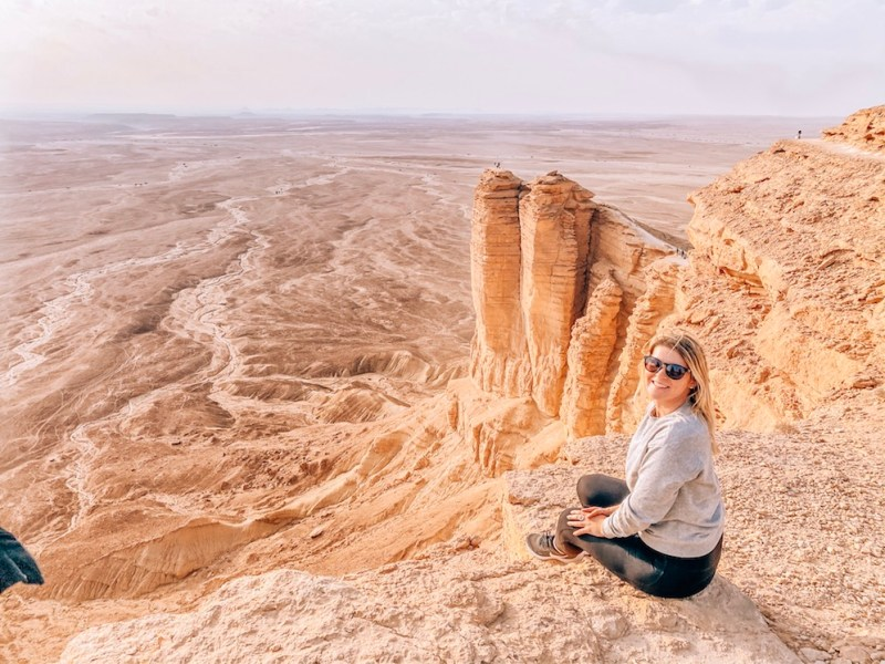 Saudi Arabia on a budget, Edge of the World Day Trip from Riyadh