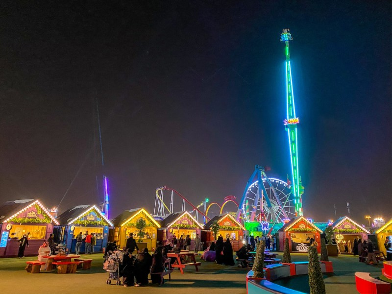 things to do in Riyadh, Winter Wonderland Riyadh, Riyadh Season