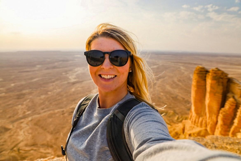 Edge of the World Riyadh Tour, Ellie Quinn Shawarma Mountain