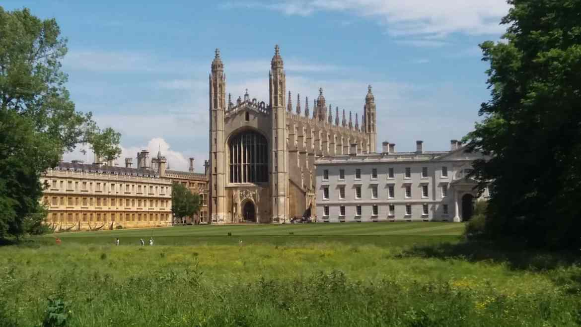 Cambridge Cathedral grounds | Cambridge Day Trip From London by Train