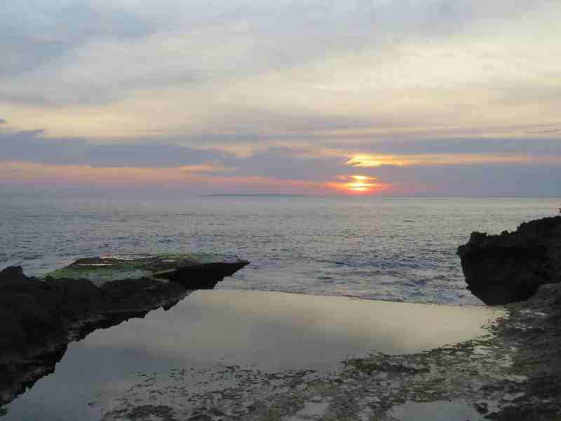 Devils Tear, Nusa Lembongan Sunset | Best Bali Sunset